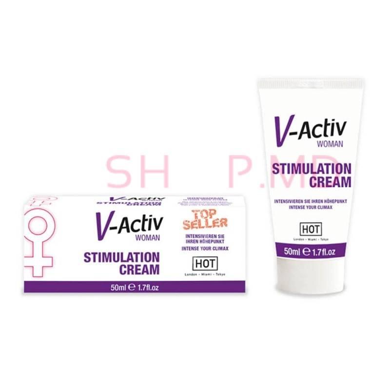 Crema stimulatoare femei V-activ