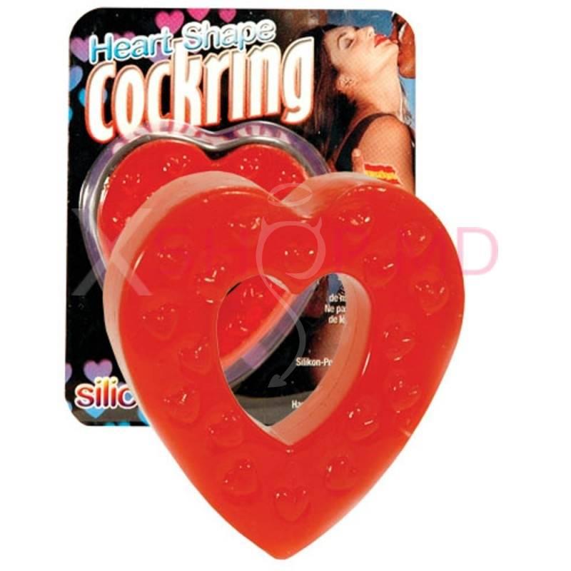 Кольцо Heart Shaped