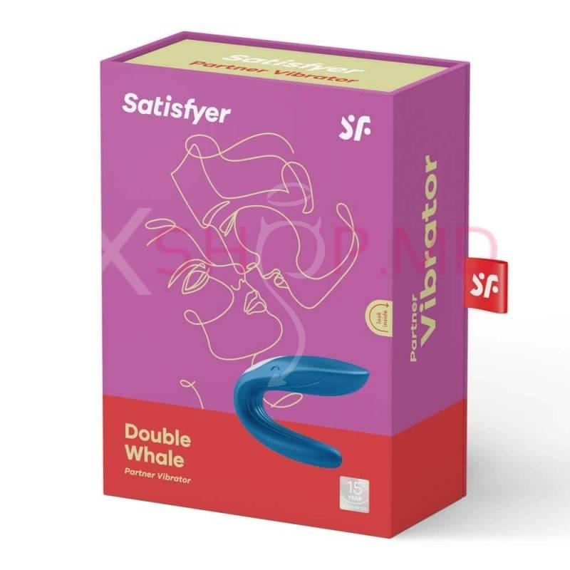 Vibrator pentru cupluri Partner Whale