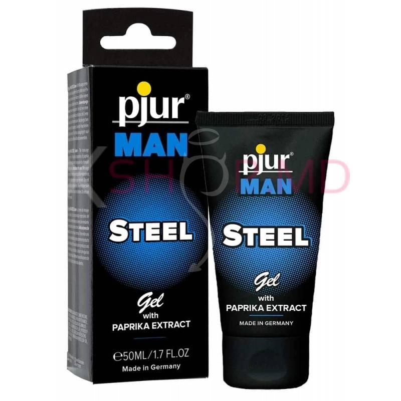 Gel pentru barbati Pjur Man Steel Gel