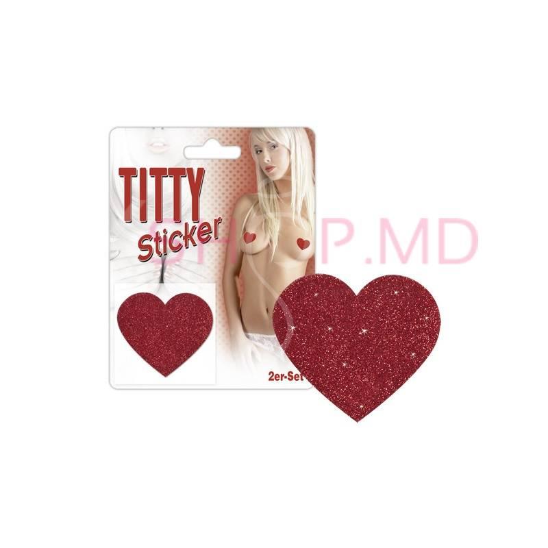 Stickere pentru sani Inimioare