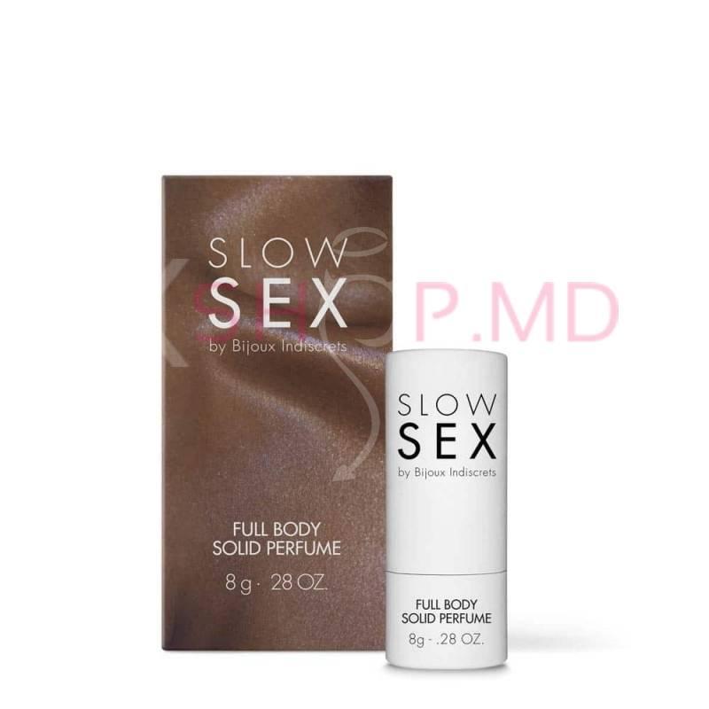 Parfum solid Slow Sex