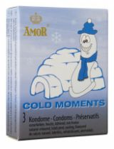 Prezervative AMOR Cold Moments