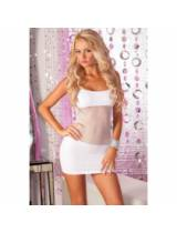 Adrenaline seamless net dress White