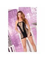 Seamless V-plunge dress